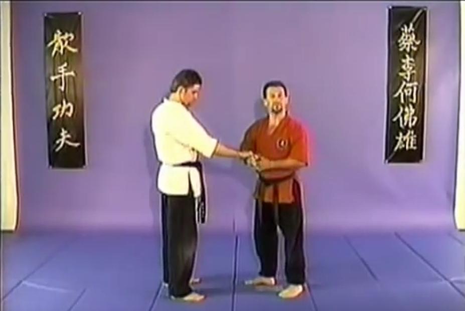 Bill Vigil Kung Fu San Soo leverages